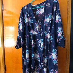 Torrid tunic floral top